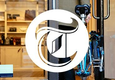 folding bike Telegraph logo