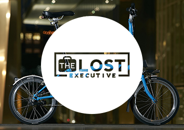 The lost executive logo